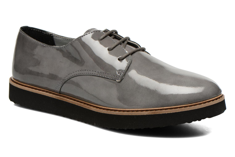 Chaussures à lacets Ippon Vintage James gloss Gris vue détail/paire