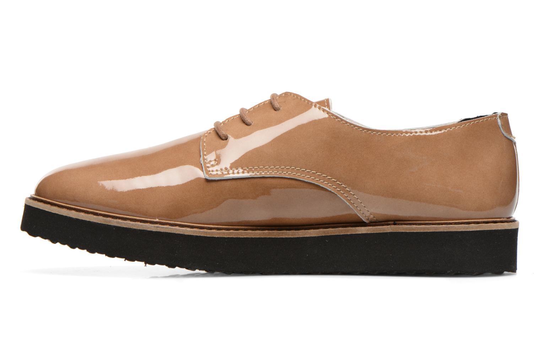 Zapatos con cordones Ippon Vintage James gloss Beige vista de frente