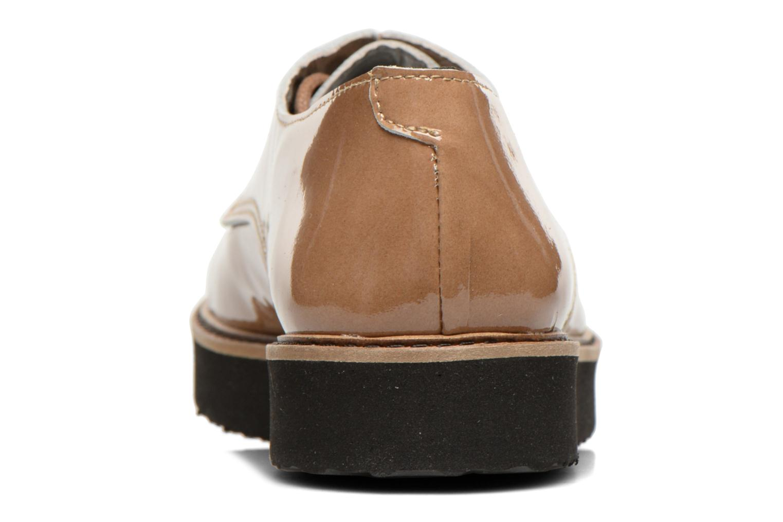 Zapatos con cordones Ippon Vintage James gloss Beige vista lateral derecha