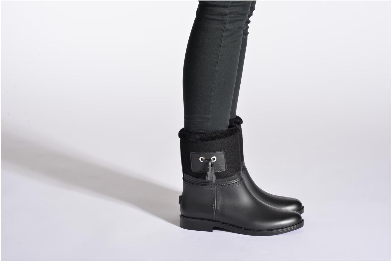 Stiefeletten & Boots Be Only Demi Divine schwarz ansicht von unten / tasche getragen
