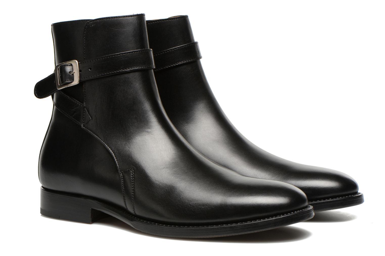 Bottines et boots Marvin&Co Luxe Wetrok - Cousu Goodyear Noir vue 3/4