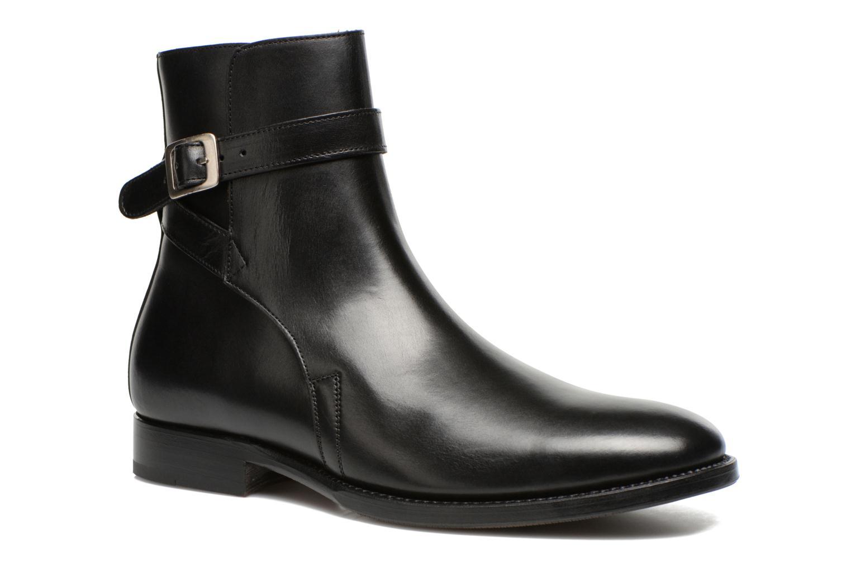 Bottines et boots Marvin&Co Luxe Wetrok - Cousu Goodyear Noir vue détail/paire