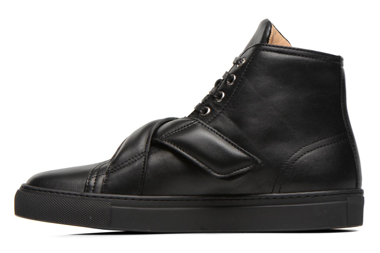 Sneaker Carven Sketcha schwarz ansicht von vorne