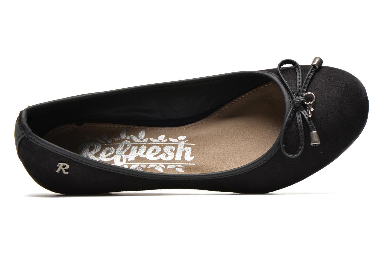 Zapatos de tacón Refresh Ubel-61159 Negro vista lateral izquierda