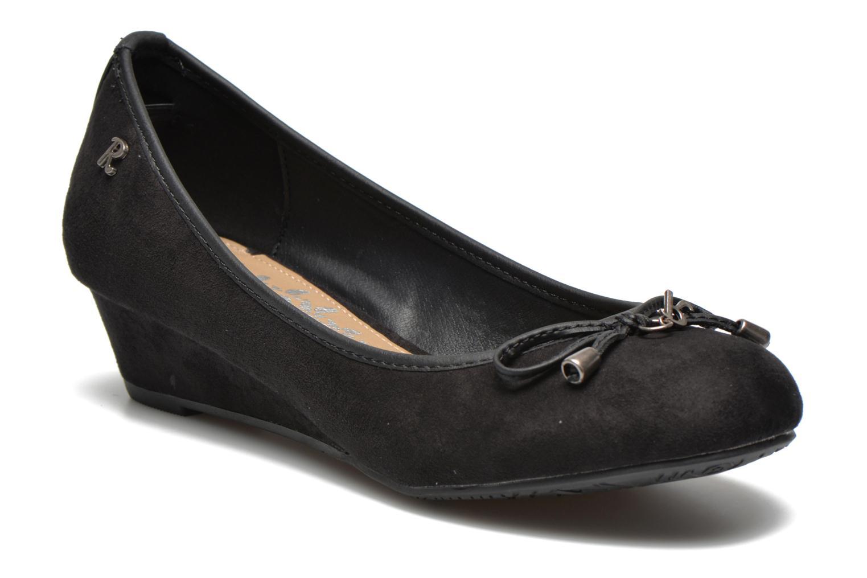 Zapatos de tacón Refresh Ubel-61159 Negro vista de detalle / par