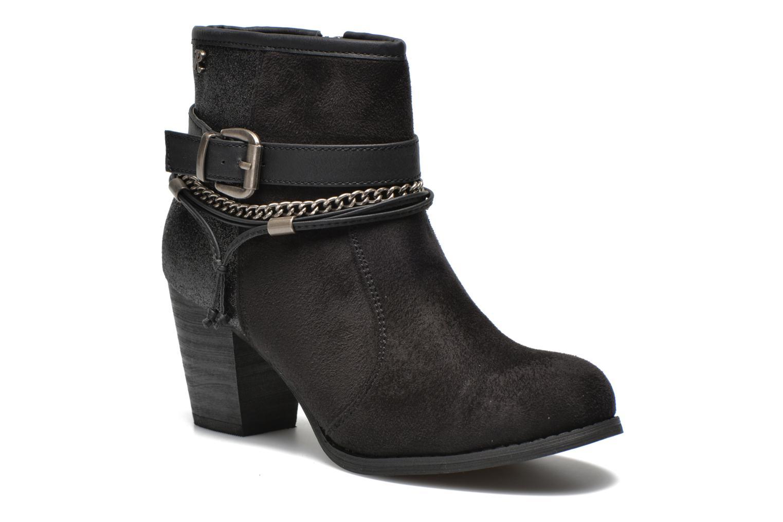Ankle boots Refresh Deborah-61181 Black detailed view/ Pair view