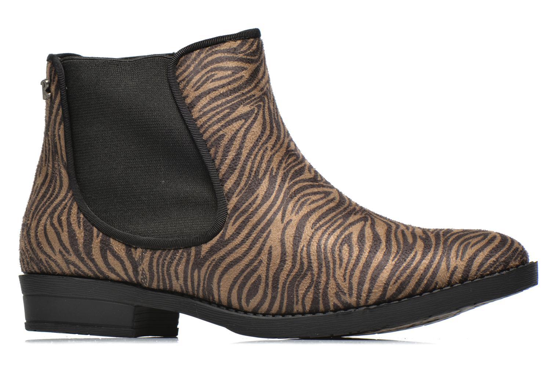 Bottines et boots Refresh Luna-61141 Marron vue derrière