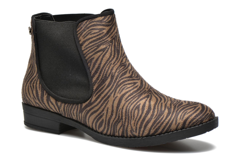 Ankelstøvler Refresh Luna-61141 Brun detaljeret billede af skoene