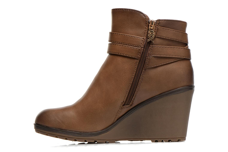 Stiefeletten & Boots Xti Cornelie-28720 braun ansicht von vorne
