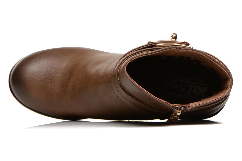 Stiefeletten & Boots Xti Cornelie-28720 braun ansicht von links