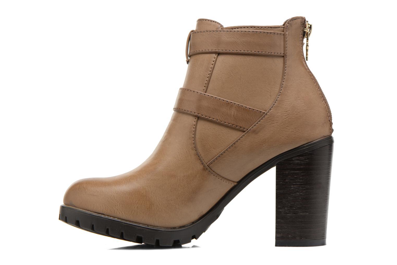 Bottines et boots Xti Emilie-28575 Beige vue face