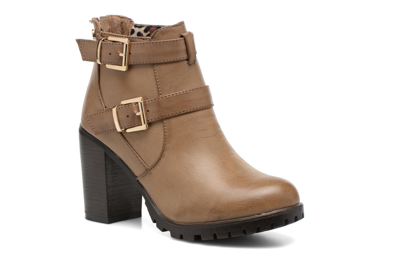 Bottines et boots Xti Emilie-28575 Beige vue détail/paire