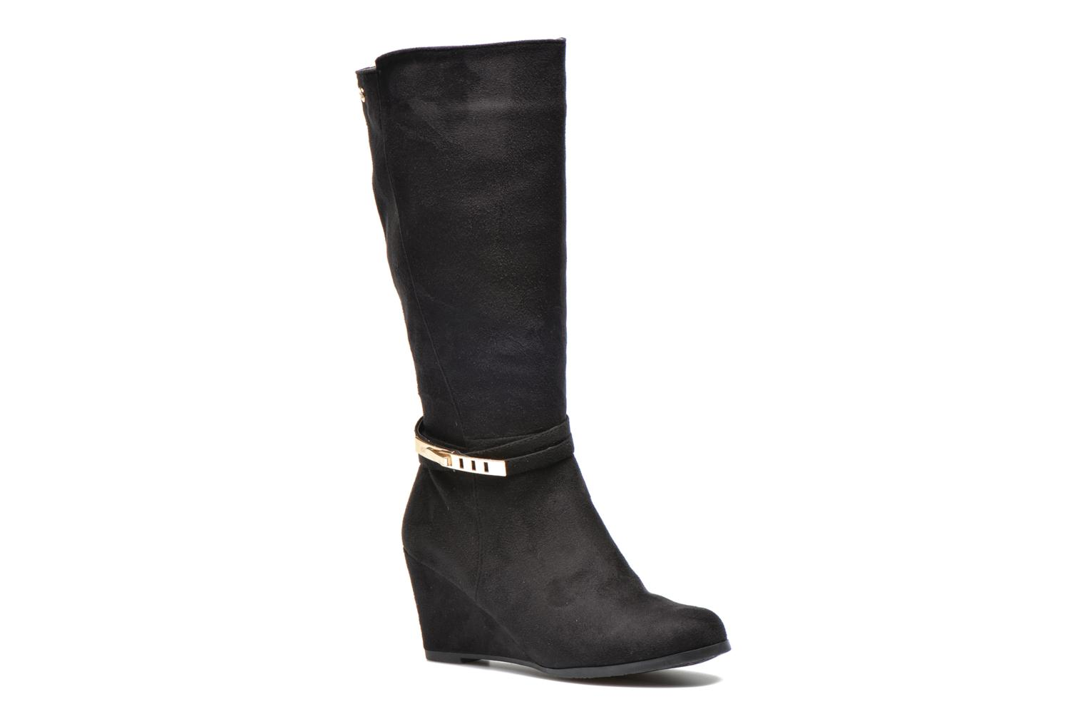 Boots & wellies Xti Maria-28423 Black detailed view/ Pair view
