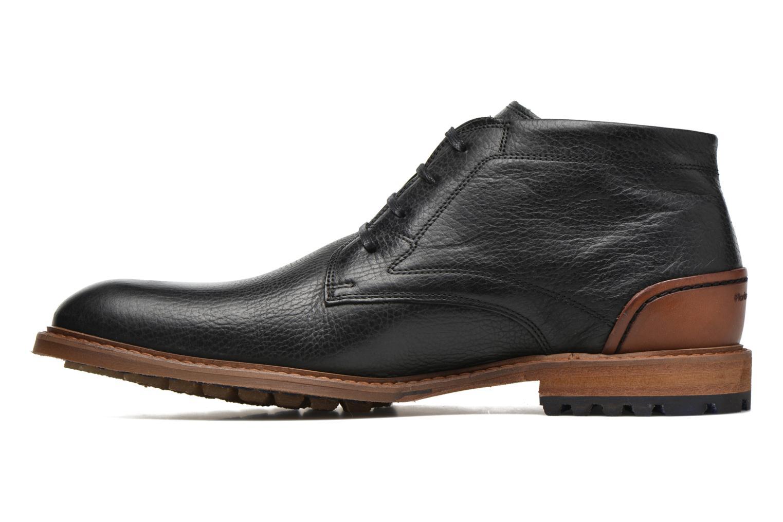 Chaussures à lacets Floris Van Bommel Baptiste Noir vue face