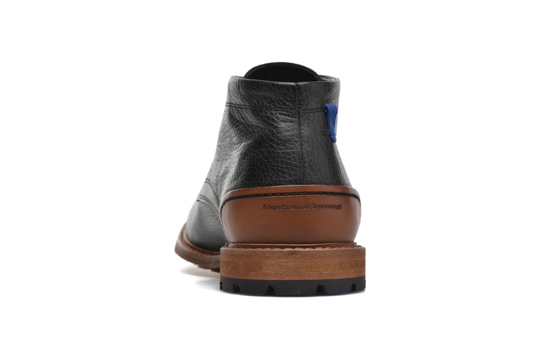 Chaussures à lacets Floris Van Bommel Baptiste Noir vue droite