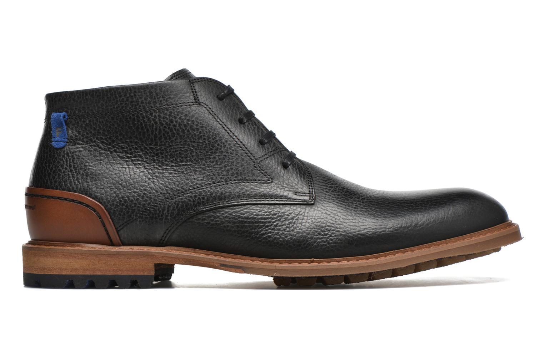 Chaussures à lacets Floris Van Bommel Baptiste Noir vue derrière