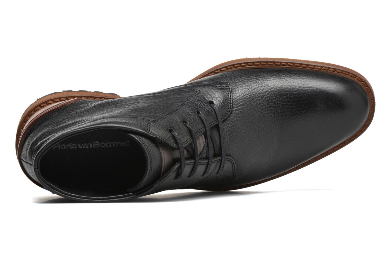Chaussures à lacets Floris Van Bommel Baptiste Noir vue gauche