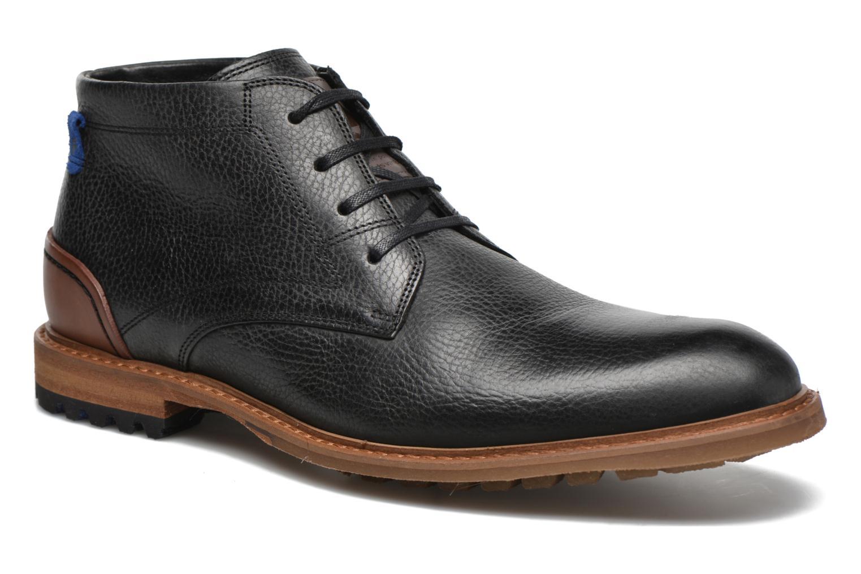 Chaussures à lacets Floris Van Bommel Baptiste Noir vue détail/paire