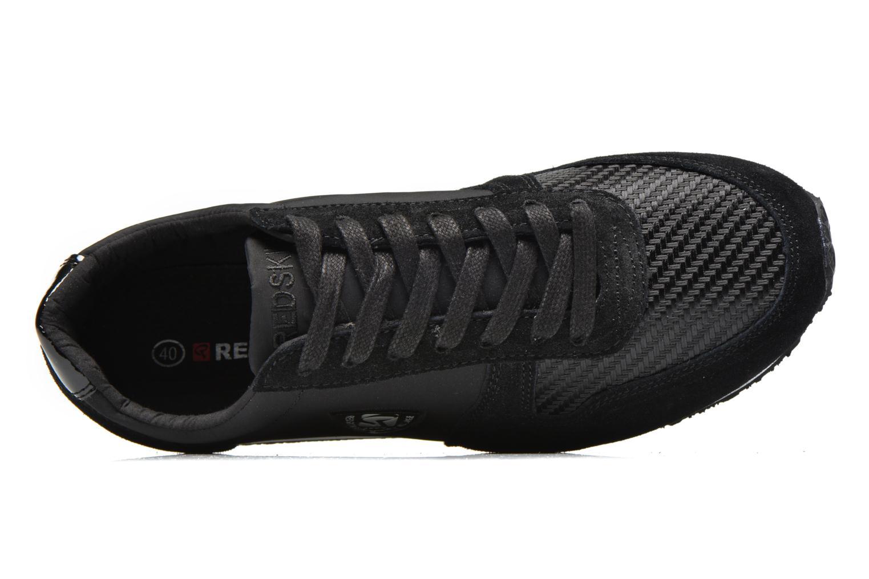 Sneakers Redskins Disco Zwart links