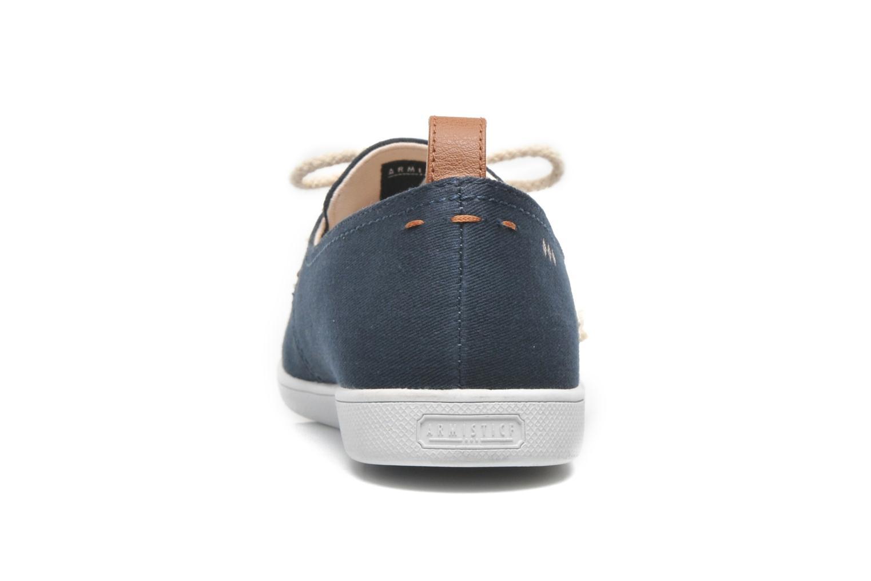 Sneakers Armistice Stone One Twill M Blauw rechts