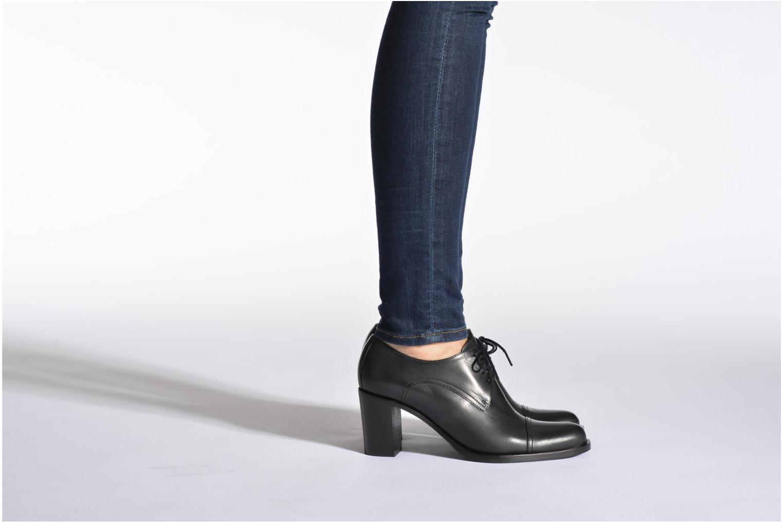Chaussures à lacets Free Lance Legend 7 line derby Noir vue bas / vue portée sac