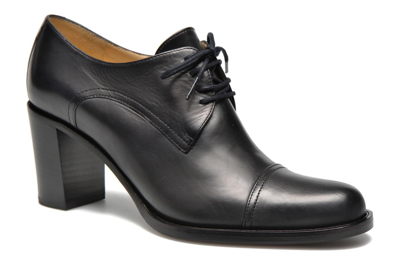 Chaussures à lacets Free Lance Legend 7 line derby Noir vue détail/paire