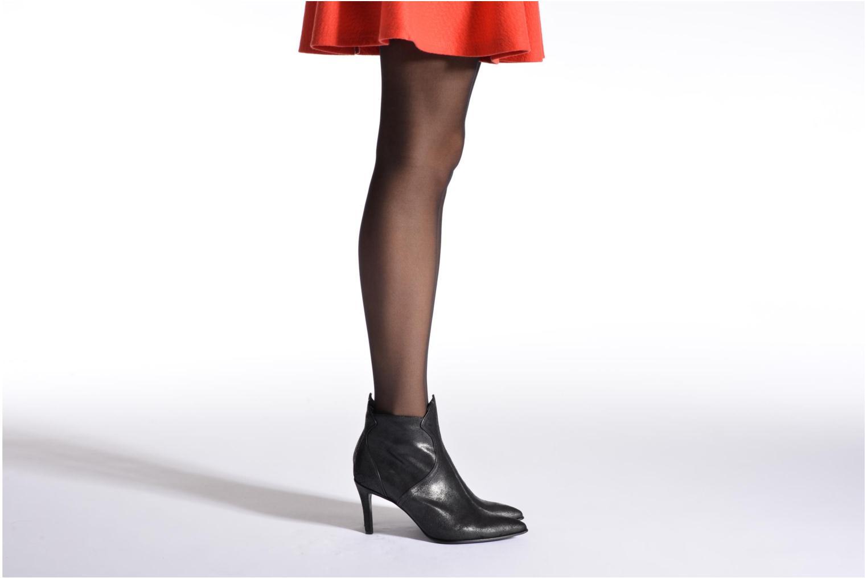 Bottines et boots Free Lance Elya 7 west zip boot Noir vue bas / vue portée sac