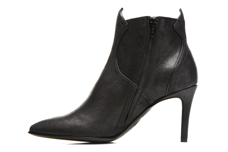 Bottines et boots Free Lance Elya 7 west zip boot Noir vue face
