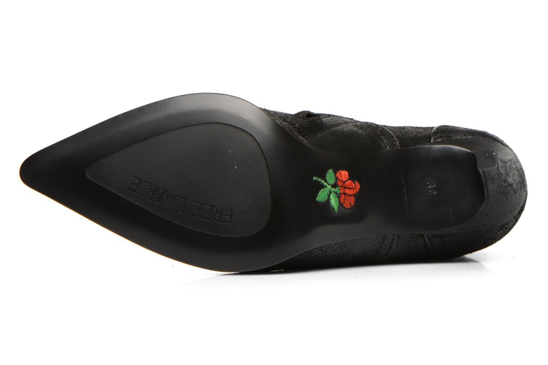Bottines et boots Free Lance Elya 7 west zip boot Noir vue haut
