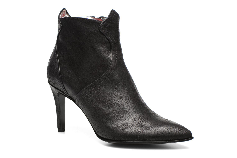Elya 7 west zip boot Vaquero noir