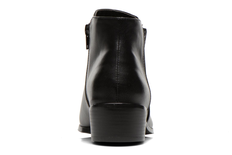 Bottines et boots Divine Factory Statch Noir vue droite