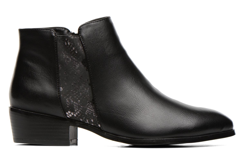 Bottines et boots Divine Factory Statch Noir vue derrière