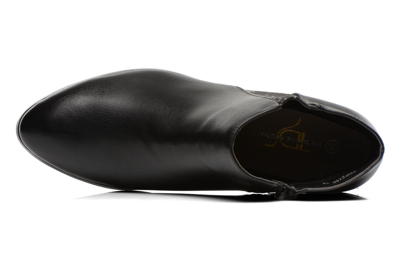 Bottines et boots Divine Factory Statch Noir vue gauche
