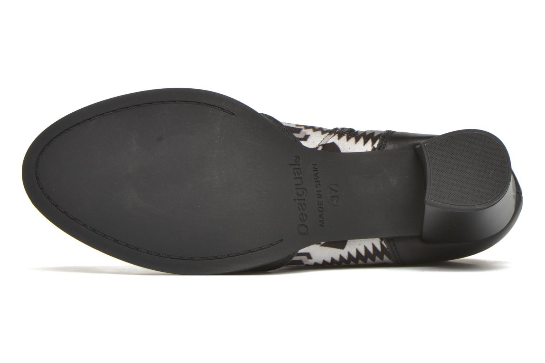 Bottines et boots Desigual Cris Noir vue haut