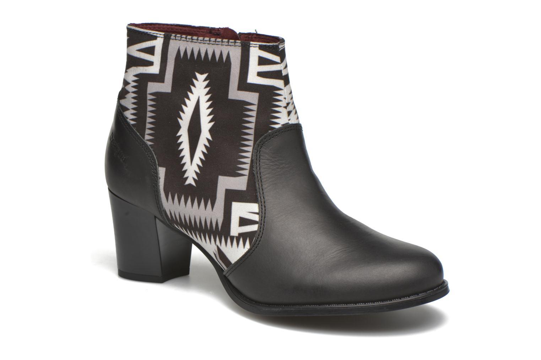 Bottines et boots Desigual Cris Noir vue détail/paire