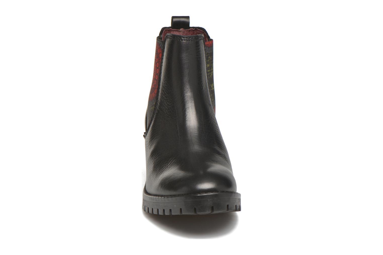 Bottines et boots Desigual Charly Noir vue portées chaussures