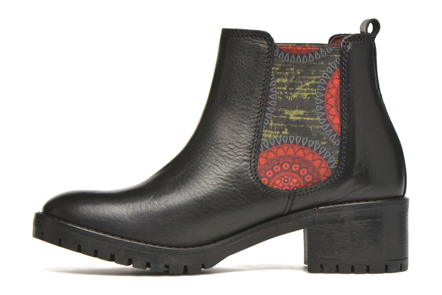 Bottines et boots Desigual Charly Noir vue face