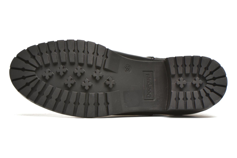 Bottines et boots Desigual Charly Noir vue haut