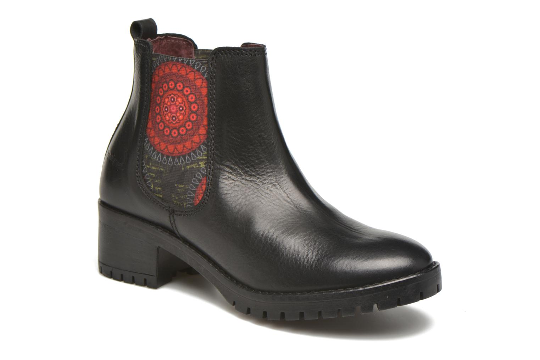 Bottines et boots Desigual Charly Noir vue détail/paire