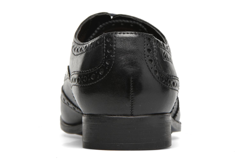 Chaussures à lacets Clarks Banfield Limit Noir vue droite