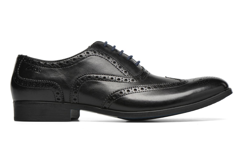 Chaussures à lacets Clarks Banfield Limit Noir vue derrière