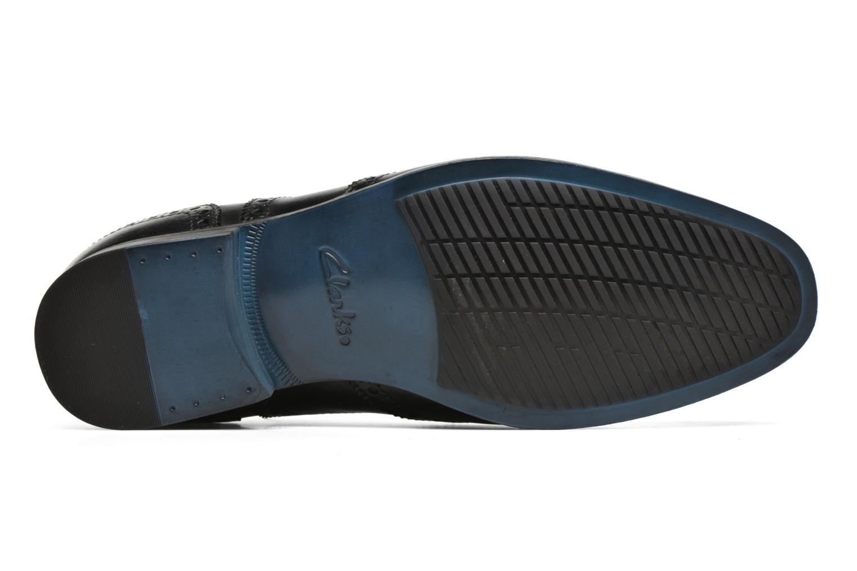 Chaussures à lacets Clarks Banfield Limit Noir vue haut