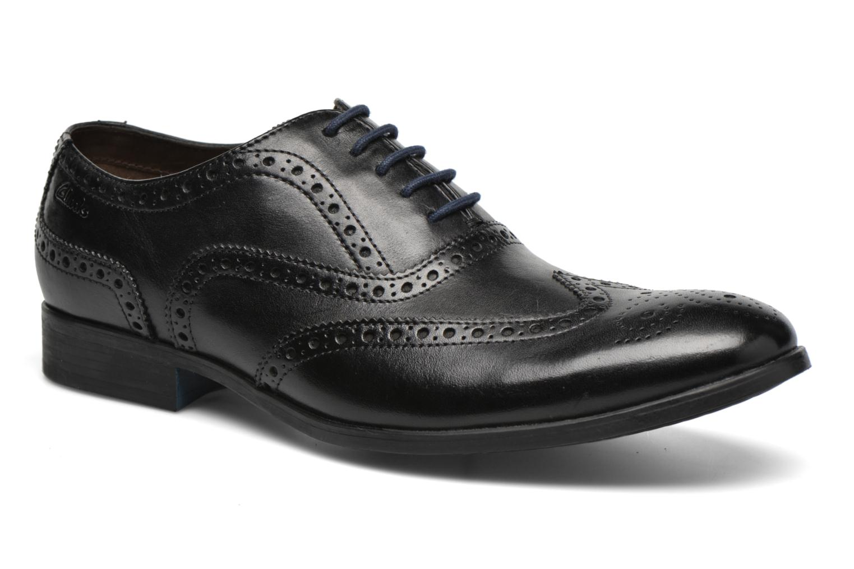 Chaussures à lacets Clarks Banfield Limit Noir vue détail/paire
