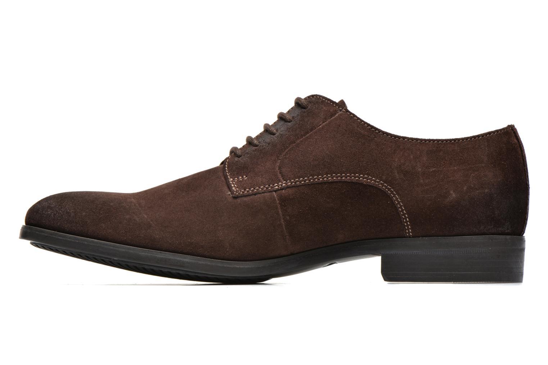 Chaussures à lacets Clarks Banfield Walk Marron vue face