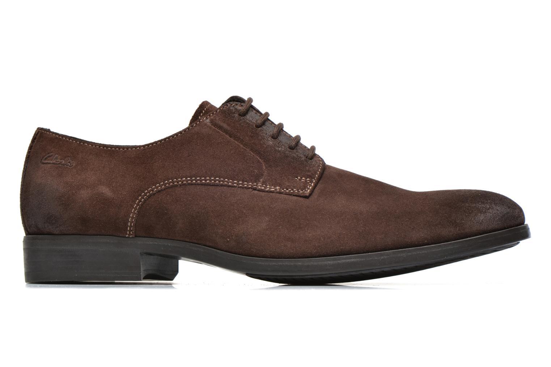 Chaussures à lacets Clarks Banfield Walk Marron vue derrière