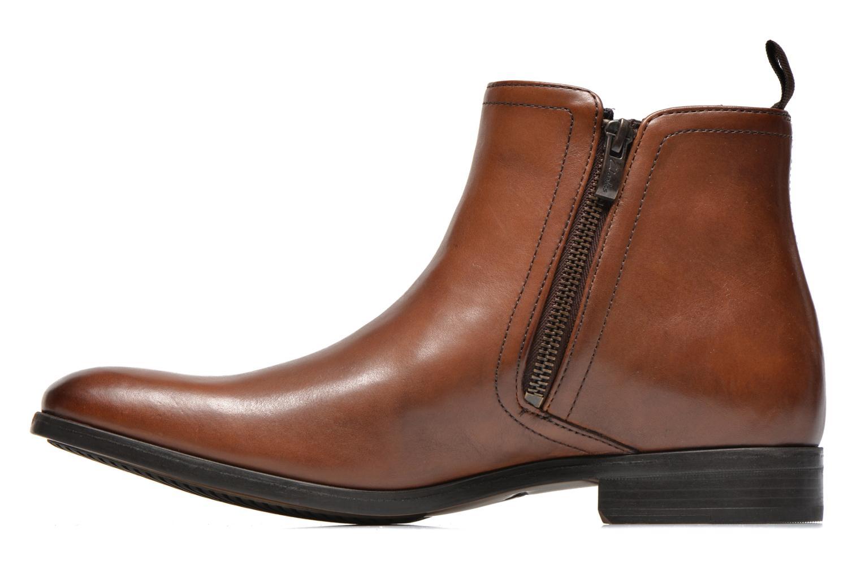 Bottines et boots Clarks Banfield Zip Marron vue face