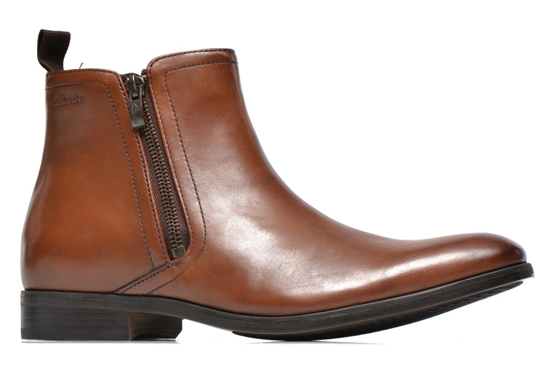 Bottines et boots Clarks Banfield Zip Marron vue derrière