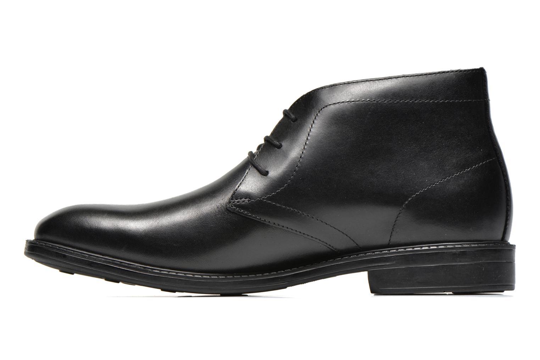 Chaussures à lacets Clarks Chilver Hi GTX Noir vue face