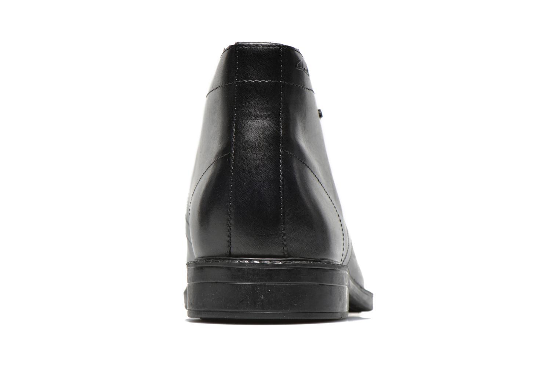 Chaussures à lacets Clarks Chilver Hi GTX Noir vue droite