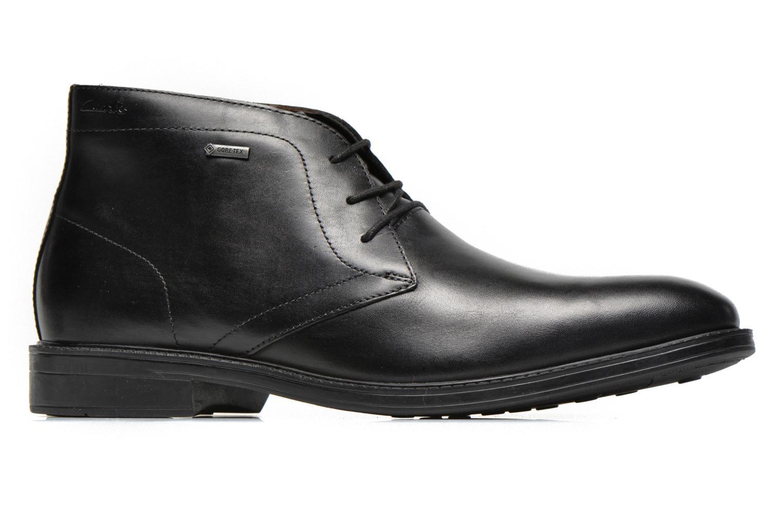 Chaussures à lacets Clarks Chilver Hi GTX Noir vue derrière